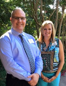 Social Workers Steve Mistretta and Kelli Sullivan
