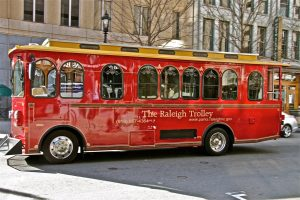 The Raleigh Trolley