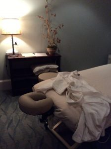 The Massage Therapy Room