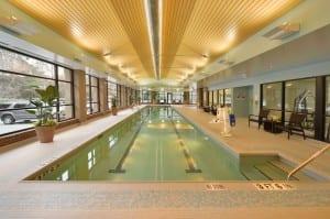 Pathways Wellness Center saltwater lap pool