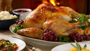 Thanksgiving preparations are underway in the Springmoor kitchens