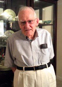 Walter Heck, 2017 Springmoor Residents Association Secretary
