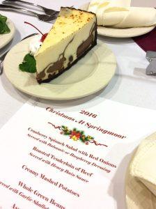 Christmas Dinner at Springmoor