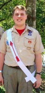 Jackson Barlow, Order of the Arrow recipient