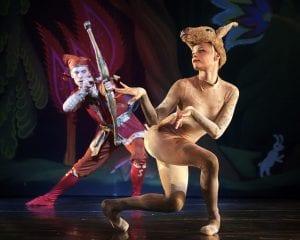 Carolina Ballet's Elice McKinley and Richard Krusch in Firebird