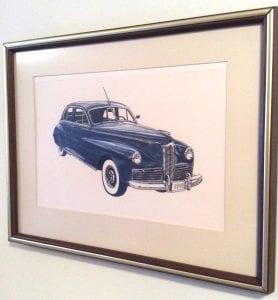 Dudley's car collection began when he was ten or twelve years old