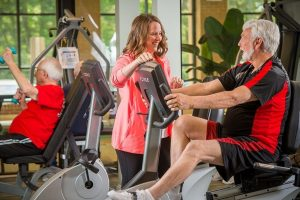 The Wellness Center has equipment for many fitness styles