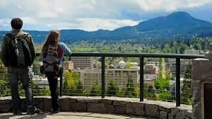 University of Oregon. A view from Skinner Butte