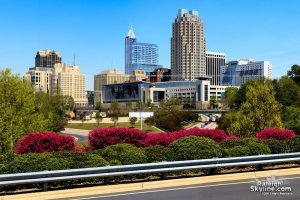 A view of downtown Raleigh