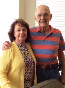 Julie and Alex Lewis moved to Springmoor in 2016