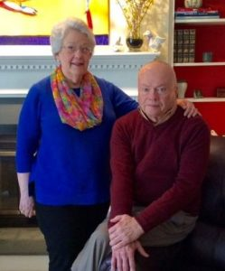 Betty and Blake Aydlett moved to Springmoor in 2013