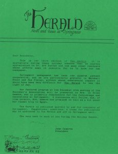 A December 1990 edition of The Herald