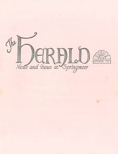 The Herald's First Edition