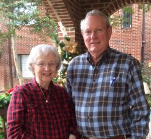 "Barbara and Allen Page describe their new Springmoor friends as ""the nicest people we may have ever met."""