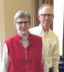 Ellen and Michael Rogers made the move to Springmoor from their home in Oregon