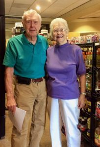 Emily and Bob find many rewards in helping run the Springmoor Convenience Store