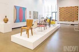 The Gregg Museum at NC State University has a beautiful collection of modern furniture
