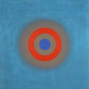 Kenneth Noland's abtract target art is on permanent display at the museum