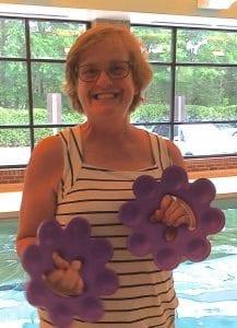 Becky Boulo's aqua enthusiasm is very inspiring
