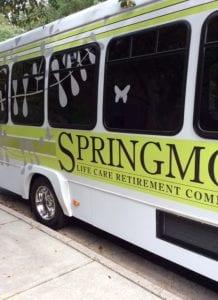 Springmoor is on the road again