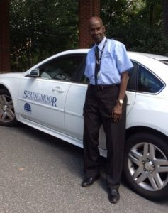 Ivor makes your ride enjoyable with his smile and lively conversations