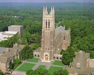 Duke University Chapel at Duke University