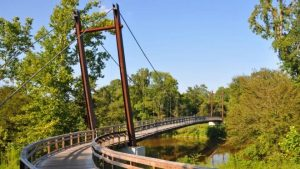 Neuse River Trail on the Raleigh Greenway