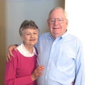 Martha and John Robinson looked at all the retirement homes in Raleigh, NC and chose Springmoor
