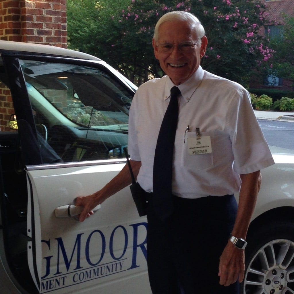 Springmoor's team of drivers helps you get where you're going, so even if you don't drive, you can make the most of independent living in Raleigh.