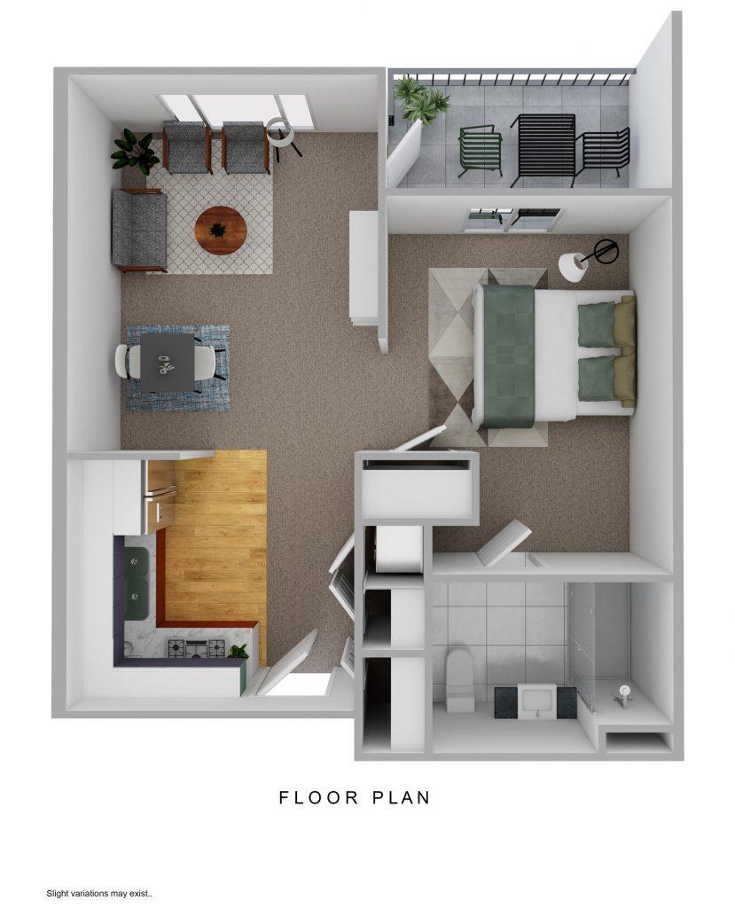 Springmoor Alcove apartment