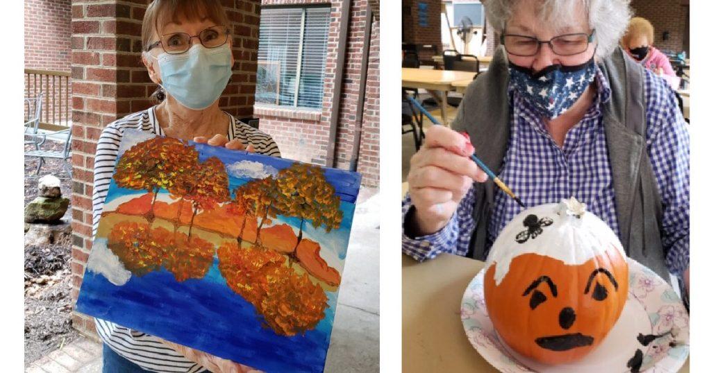 Springmoor Residents Enjoy Autumn Activities